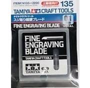Tamiya (TAM) 865- 74135 Fine Engraving Blade 0.1mm