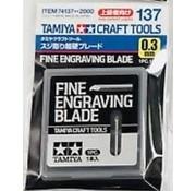 Tamiya (TAM) 865- 74137 Fine Engraving Blade 0.3mm