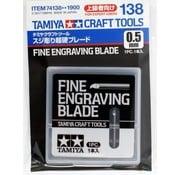 Tamiya (TAM) 865- 74138 Fine Engraving Blade 0.5mm