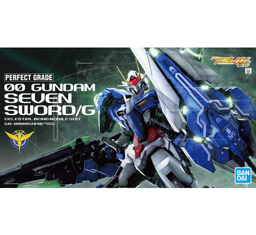 """Bandai 5055582 00 Gundam Seven Sword/G """"Gundam 00"""", Bandai PG 1/60"""