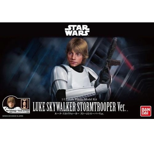 Bandai 225755 Luke Skywalker Stormtrooper 1/12  Star Wars