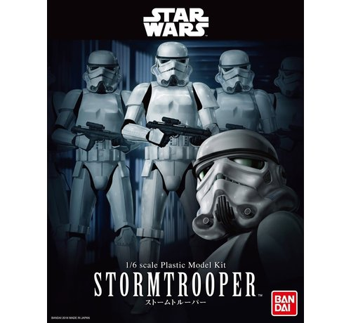 Bandai 210505 StormTrooper 1/6 scale plastic model kit Star Wars