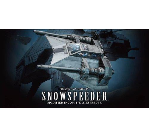 "Bandai 196692 Snow Speeder ""Star Wars"", Bandai Star Wars 1/48 Plastic Model"