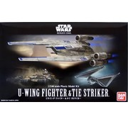 Bandai U-Wing Fighter/Tie Striker Rogue One Star Wars