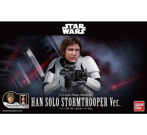 "Bandai 225743 Han Solo Stormtrooper ""Star Wars"", Bandai Star Wars Character Line 1/12"