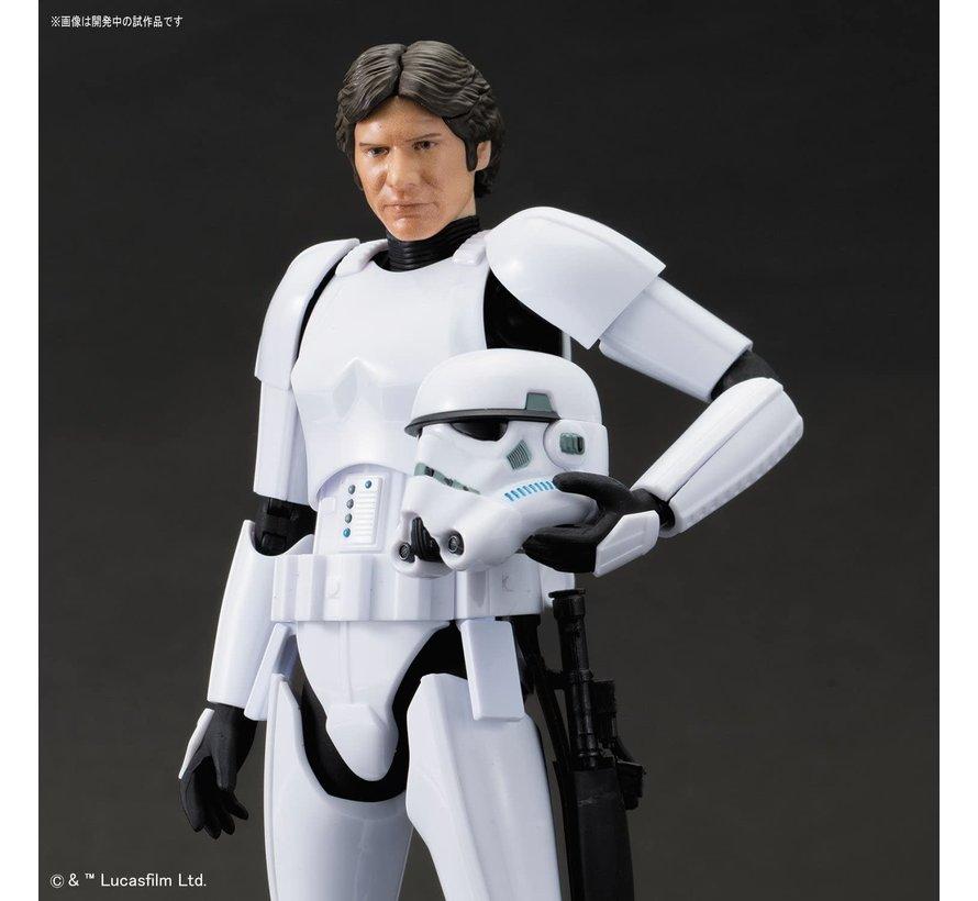 "225743 Han Solo Stormtrooper ""Star Wars"", Bandai Star Wars Character Line 1/12"