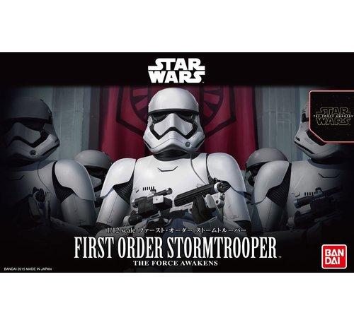 "Bandai 203217  First Order Stormtrooper ""Star Wars"", Bandai Star Wars Character Line 1/12"