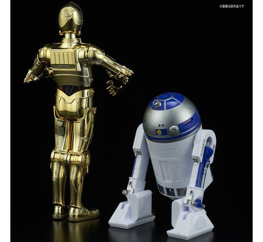"223297 C-3PO & R2-D2 ""Star Wars"", Bandai Star Wars Character Line 1/12"