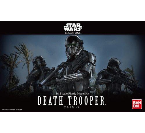 "Bandai 209052 Death Trooper Rogue one ""Star Wars"", Bandai Star Wars Character Line 1/12"