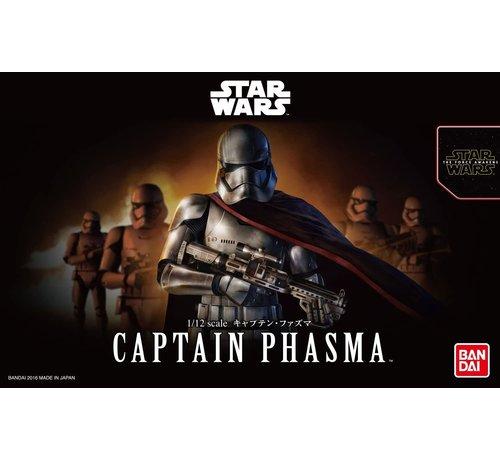 """Bandai 219776 Captain Phasma """"Star Wars"""", Bandai Star Wars Character Line 1/12"""