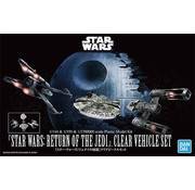 Bandai Return of the Jedi Clear Vehicle Set