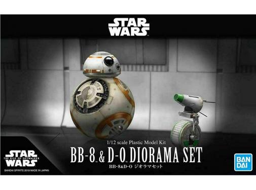 Bandai 5058226 Star Wars: The Rise of Skywalker BB-8 & D-O Diorama Set