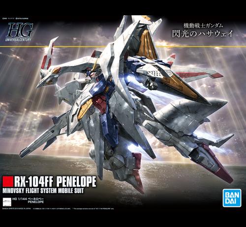 "Bandai 5058204 #229 Penelope RX-104FF  ""Gundam Hathaway's Flash"", Bandai Spirits HGUC 1/144"