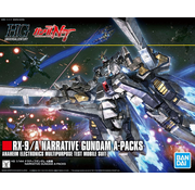 Bandai Narrative Gundam A-Packs