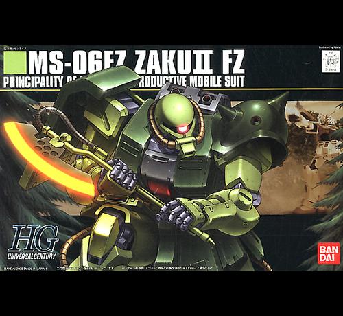 Bandai 5058262 #87 MS-06F ZAKU II FZ (KAI) HG