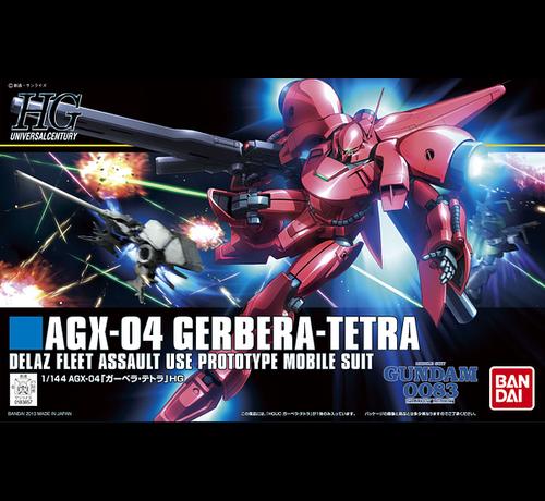 Bandai 5055886 #159 AGX-04 Gerbera Tetra HGUC