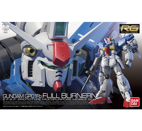 "Bandai 182655 #13 RX-78 GP01-Fb Gundam ""Zephyranthes"" Full Burnern RG 1/144"