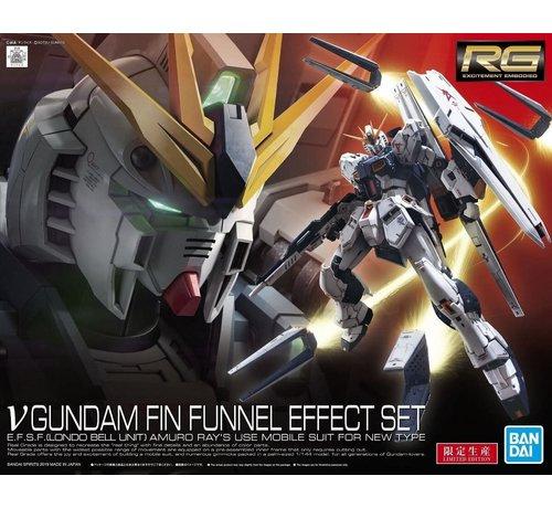 "Bandai S5059000  Νu Gundam Fin Funnel Effect Set ""Char's Counterattack"", Bandai Spirits RG 1/144"