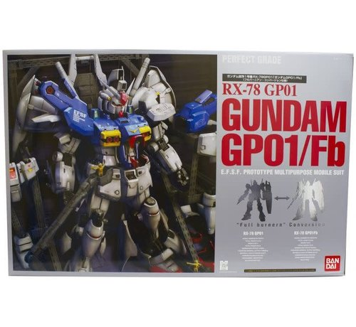 Bandai 116409 RX-78 GUNDAM GP01 / Fb PG