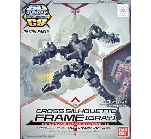 "Bandai 5060672 / 230354 Cross Silhouette Frame Gray ""SD Gundam"", Bandai SDCS Gundam"