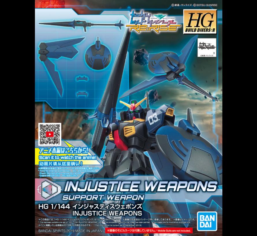 "5058857  #10 Injustice Weapons ""Gundam Build Divers"", Bandai Spirits HGBD 1/144"