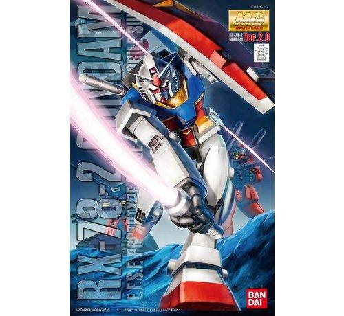 Bandai 155520  MG Gundam RX-78-2 Ver 2.0 1/100