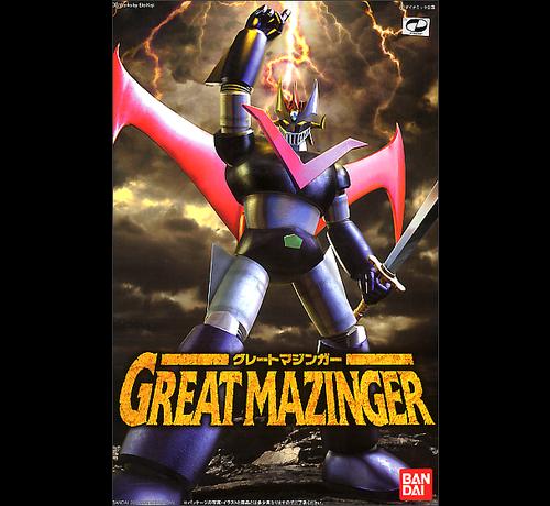 "Bandai 158103 Great Mazinger ""Great Mazinger"" Bandai Mechanic Collection"