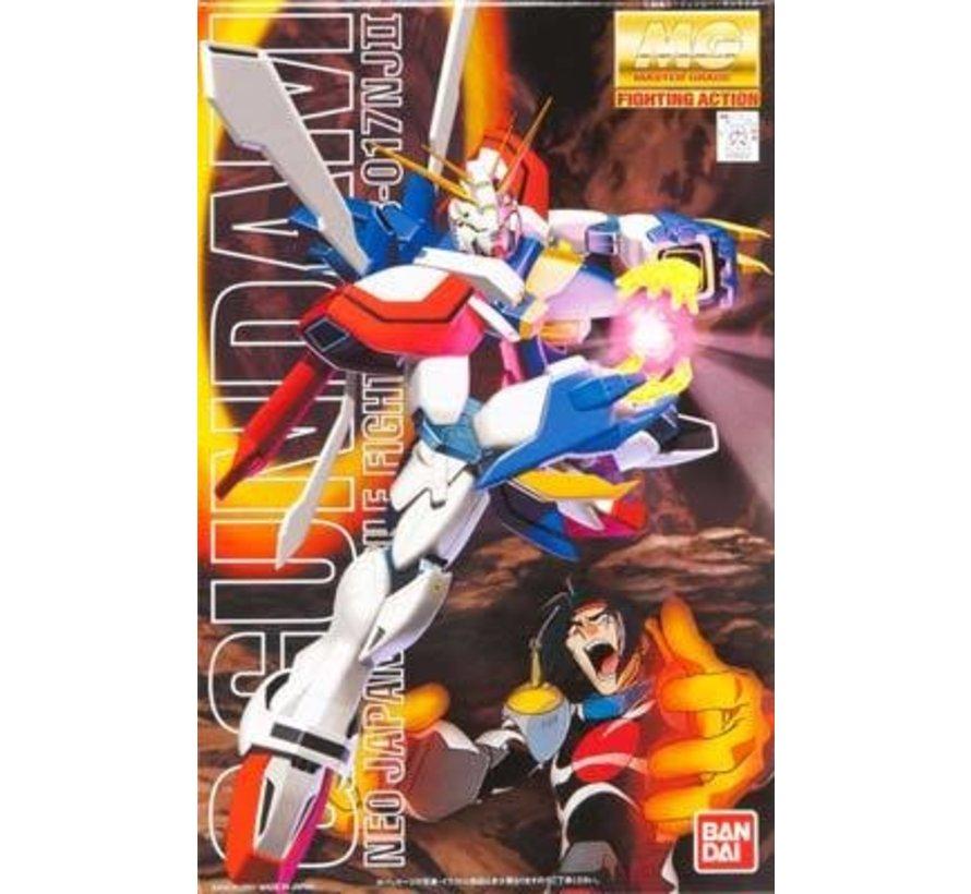"""106042 GF13-017NJ II God Gundam MG Model Kit, from """"G Gundam"""""""
