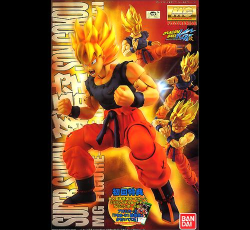 """Bandai 162391 Super Saiyan Son Goku """"Dragon Ball Z"""", 1/8 Bandai MG Figurerise"""
