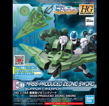 Bandai Mass-Produced Zeonic Sword HGBD