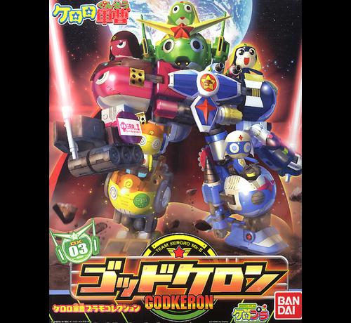 Bandai 153263 DX-03 Team Keroro Mk.II God Keron Sgt Frog