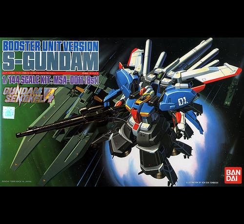 Bandai 25053 S Gundam with  Booster Unit