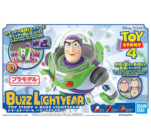 "Bandai 5057698 Buzz Lightyear ""Toy Story"", Bandai Cinema-Rise Standard Plastic model kit"