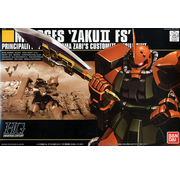 Bandai 5Zaku II FS (Garma Zabi's Custom) HGUC