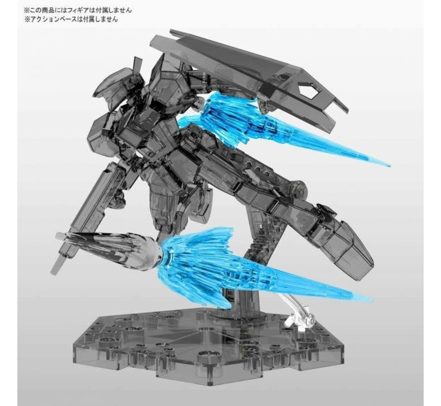 5058104 Figure-Rise Effect Jet Effect Clear Blue