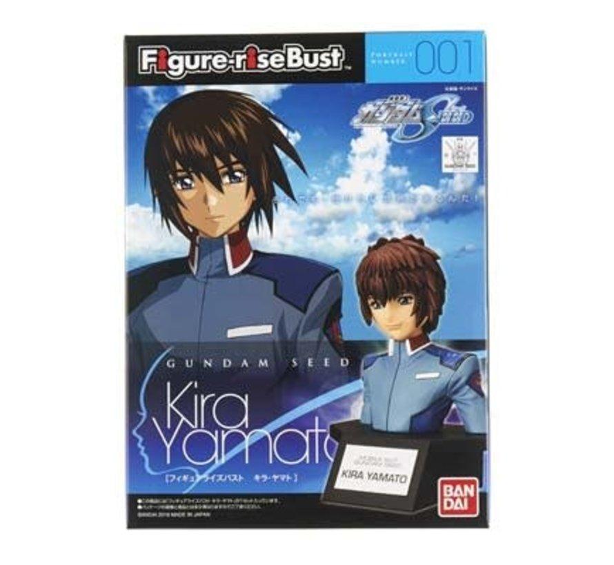 207595 Kira Yamato Gundam Figure-Rise Bust