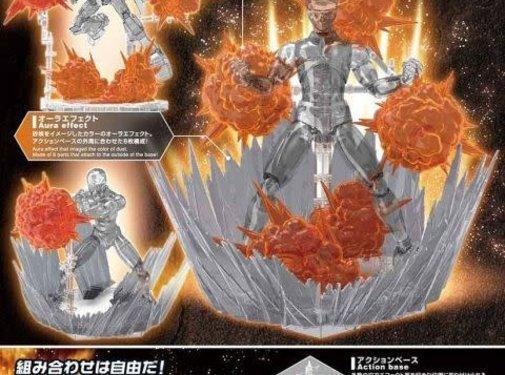 Bandai Burst Effect (Orange)