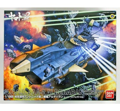 """Bandai 217848 Aldebaran (Movie Effect Ver.) """"Yamato 2202"""", Bandai Star Blazers 1/1000"""