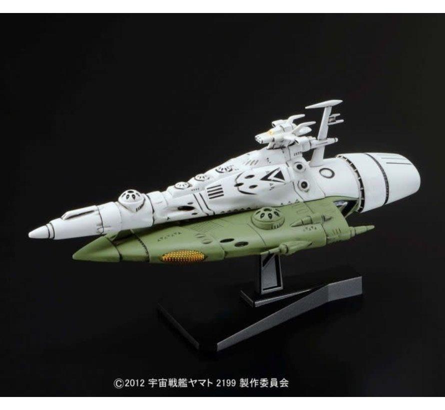 191402 #07 KUKULKAN CLASS Space Battleship Yamato 2199 Mecha Colle