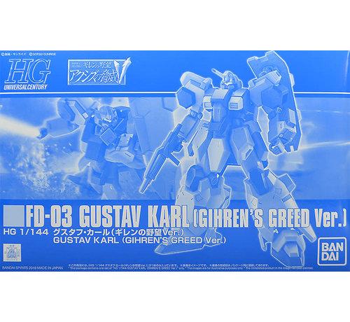 Bandai PBAN27 HGUC 1/144 Gustav Karl (Gihren Greed Ver.)