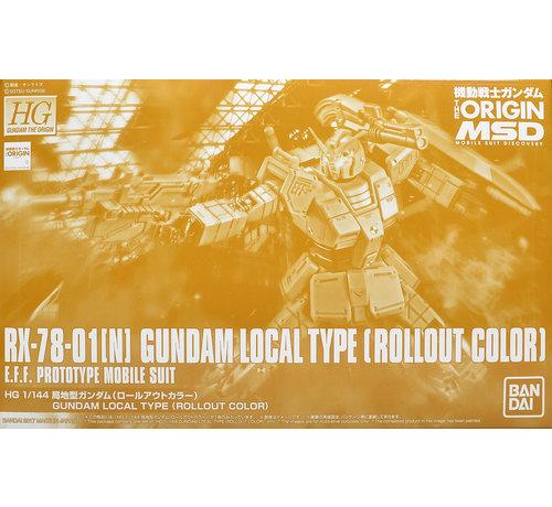 Bandai PBAN37 HG 1/144 GUNDAM LOCAL TYPE (ROLLOUT COLOR)