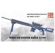 Super Indoors Men Pro (SIM) GM Sniper Rifle 1/100