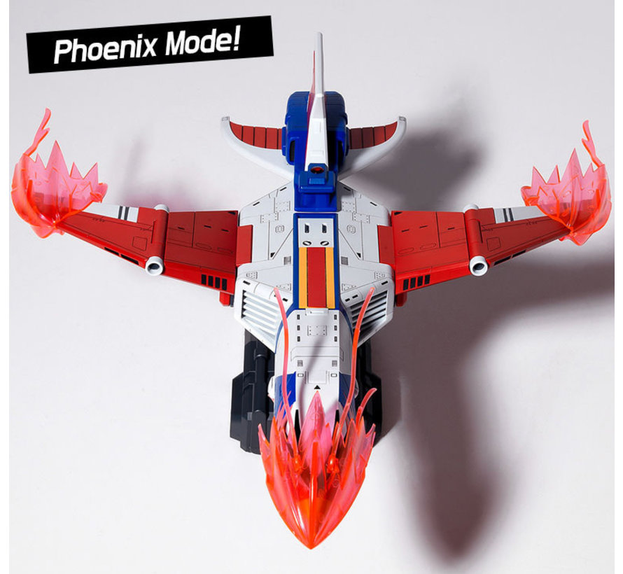 15776 Gatchaman II: New God Phoenix Spacecraft w/LED Set, 5 Figures & 5 Vehicles
