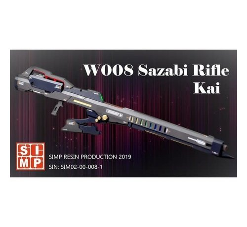 Super Indoors Men Pro (SIM) 02000081 W008 Space Long Rifle 1/144