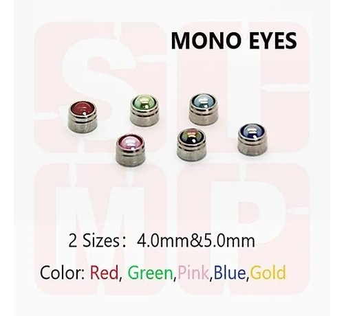 Super Indoors Men Pro (SIM) 0700ME54 Monoeye/Scope 5mm Blue
