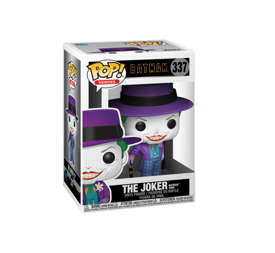47709 Batman 1989 Joker Pop! Vinyl Figure
