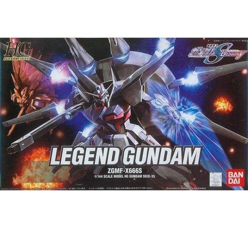 Bandai 5055718 #35 Legend Gundam Seed Destiny