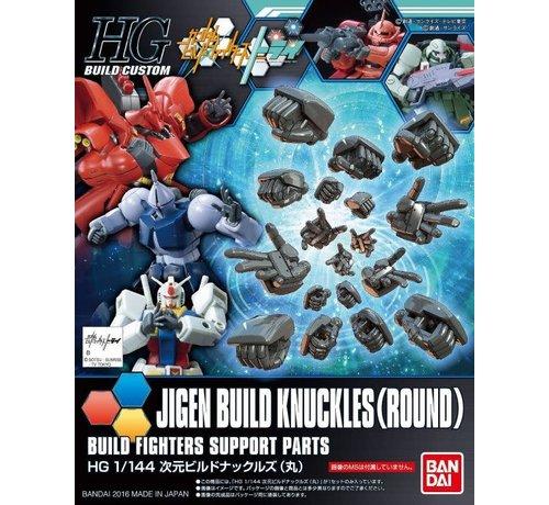 Bandai 208102 Jigen Build Knuckles (round) HGBC