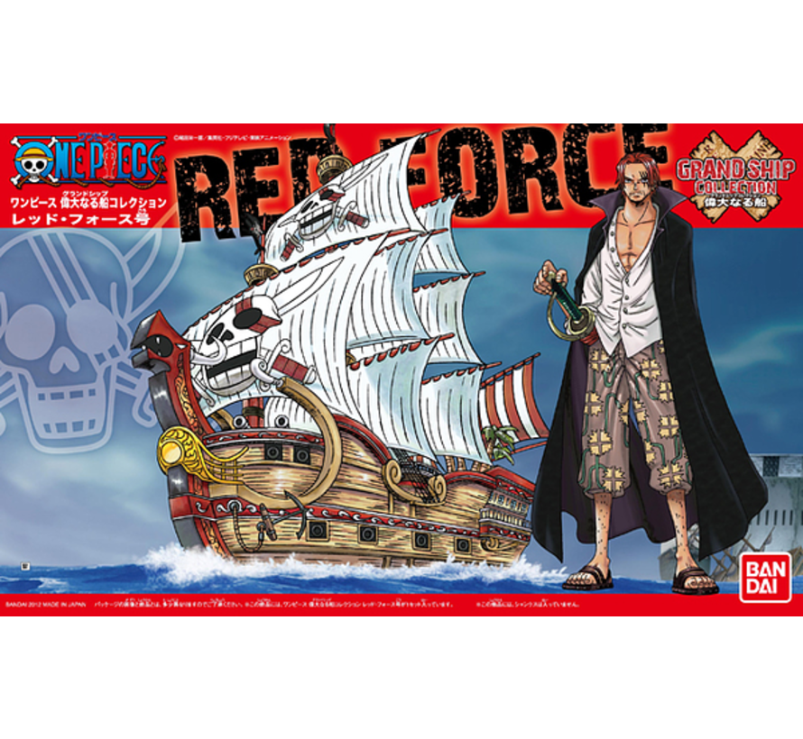 5057428 #04 Red Force Model Ship, Bandai One Piece GSC