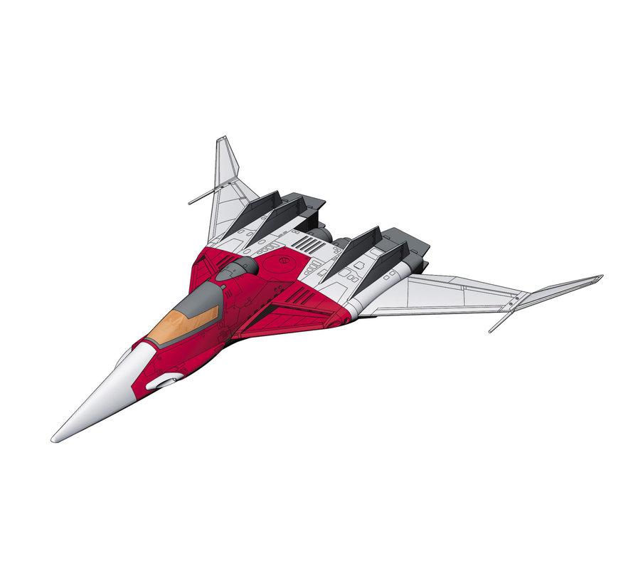 64775 Crusher Joe Fighter 2 w/ Alfin Figure 1/72
